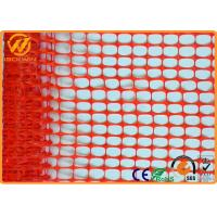Wholesale 100% Virgin HDPE UV Customized Orange Plastic Mesh Fencing Safety Security Fence from china suppliers