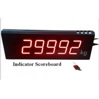 Wholesale Professional Wireless Digital Weight Indicator Scoreboard with 3 - 7inch LED display from china suppliers