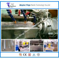 Wholesale PVC Steel Wire Reinforced Pipe Extruder Machinery, Hose Making Machine from china suppliers
