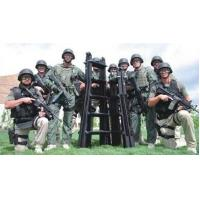 Flexble Tactical Assault Ladders For Military / SWAT / Law Enforcement , 2.4m Extension Height