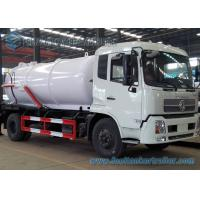 Wholesale 12000L Dongfeng Diesel Sewage Suction Truck 4 X 2 with DFL1160BX Chassis from china suppliers