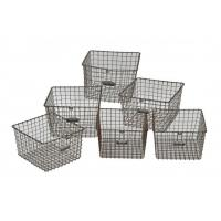 Wholesale Custom Made Metal Wire Mesh Baskets from china suppliers