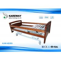Wholesale Commercial Wooden Hospital Medical Beds , Full Electric Hospital Bed For Home Use from china suppliers