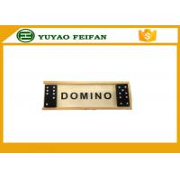 Wholesale Promotional Playing Game Double Six Dominoes Game Set With Wooden Box from china suppliers
