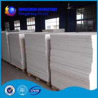 Wholesale White Heat Resistence high temperature insulation board , ceramic fibre board from china suppliers