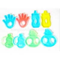 Wholesale BPA Free Water Filled Silicone Baby Teether Different Shapes Soft Toy ODM / OEM from china suppliers