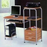 Wholesale Computer Desk with Flakeboard and Iron Pipe, Measures 1,250 x 500 x 1,120mm from china suppliers