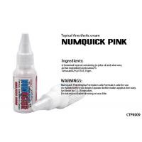 Wholesale Stop Pain Numquick Pink Tattoo Anesthetic Cream Tetracaine 2% #7545 / 15gm from china suppliers