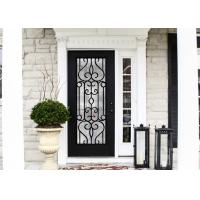 Wholesale European Style Custom Design Decorative Door Glass Inserts Excellent Climate Resistance from china suppliers