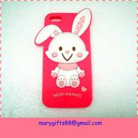 Wholesale Amazing cartoon animal shape cell silicone phone case from china suppliers