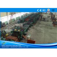 Wholesale Low Carbon Steel ERW Pipe Mill Making Machine Rectangular Pipe Shape from china suppliers