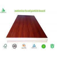 Wholesale New design wood grain wholesale cheap E0/CARB P2 4'X8' melamine laminated particle board from china suppliers