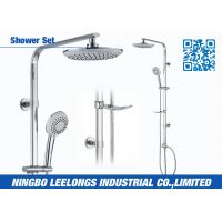 Wholesale Corner Shower Column Thermostatic Shower Set With 3 Function Overhead Shower from china suppliers