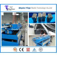Wholesale Plastic Single Layer Corrugated Hose Making Machine / Flexible Corrugated Tube Extruder from china suppliers