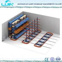 Wholesale Warehouse Cantilever Pallet Racking , Selective Size Cantilever Steel Rack from china suppliers