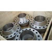 Wholesale 304 316 Forged Stainless Steel ansi standard a105 weld neck forge flange from china suppliers