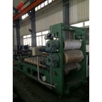 SIEMENS PLC Control 5 Roll / 4 Roll Calender Machine , OMRON Temperature Control Calendering Equipment