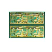 Wholesale 10 Layer 1.6mm Thickness Fr4 PCB Circuit With Immersion Gold In Electronic Test Control from china suppliers