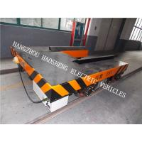 Wholesale Forklift Shape Rail Flat Car DC 36V Wireless / Line Control 25 Tons Load from china suppliers