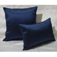 Wholesale 100% Cotton Pillow Cushion Covers Navy Blue Decorative Pillows 30x40cm from china suppliers