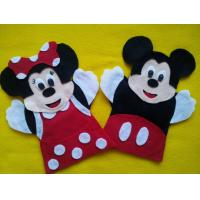 Wholesale Mickey Mouse Minnie Mouse Plush Finger Puppets Felt For Promotion Gifts from china suppliers