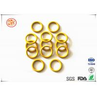 Wholesale Yellow Waterproof Silicone O Ring High Temperature Resistance For Electronic from china suppliers
