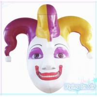 Wholesale 2.1m White Oxford Inflatable Clown Head for Halloween Decoration from china suppliers