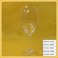 Wholesale 20oz Lead-Free Unbreakable Goblet Wine Glass , 615ml With Swarovski Crystal from china suppliers