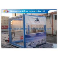 Wholesale OEM Inflatable Transparent Tent With Removable Walls & Roof for Temporary Storage Shed from china suppliers