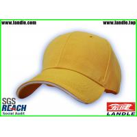 Wholesale Polyester Cotton Yellow Baseball Hats Ladies Beige For Running from china suppliers