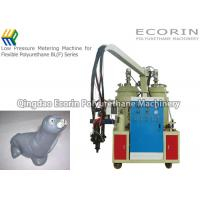 Quality Soft Toy / Backrest Making Polyurethane Foam Injection Machine VFD Output Adjusted for sale