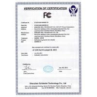UVI GROUP CORPORATION LIMITED Certifications