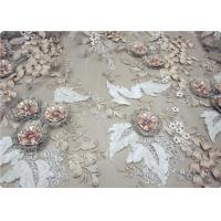 Wholesale Beautiful Bead Lace Overlay Fabric Furniture Upholstery Fabric from china suppliers