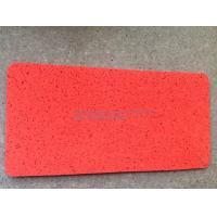 China Fitness Center Hard Rubber Gym Flooring Mats Non Pollution Wear Resistant on sale