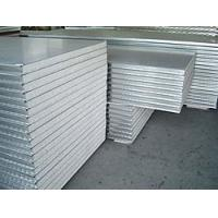 Wholesale Corrugated Noise Insulated Metal Panels , Fire Rated Insulated Roofing Sheets from china suppliers