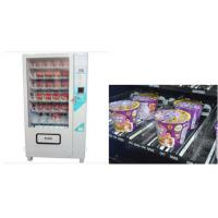 Wholesale LCD screen Cup Noodle Vending Machine , Automatic Selling Vending Kiosk from china suppliers