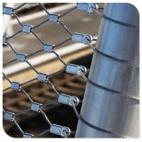 Buy cheap Flexible stainless steel wire rope architecture mesh from wholesalers