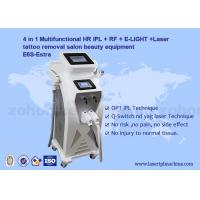 Wholesale Multifunction 4 in 1 Tattoo Removal Hair Removal Elight IPL RF ND Yag Laser Machine from china suppliers