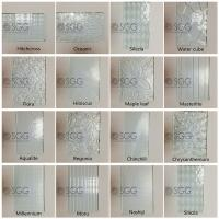 Wholesale 3mm 4mm 5mm 6mm Diamond Chinchilla Flora Nashiji Rolled Glass Figured Glass Pattern Glass from china suppliers