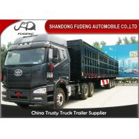 Wholesale 3 Axles 50 Cbm Tipper Side Dump Semi Trailer With Hydraulic Cyclinder from china suppliers