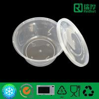 Quality Food grade Take Away Plastic Soup Bowl, Salad container 450ml for sale