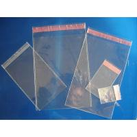 Wholesale Clear Plain Header Self Adhesive OPP Bags / OPP Header Bag / OPP Cellophone Gift Bag from china suppliers