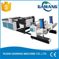 Wholesale Servo Motor Control Paper Bag Sheeting And Cutter Machine from china suppliers