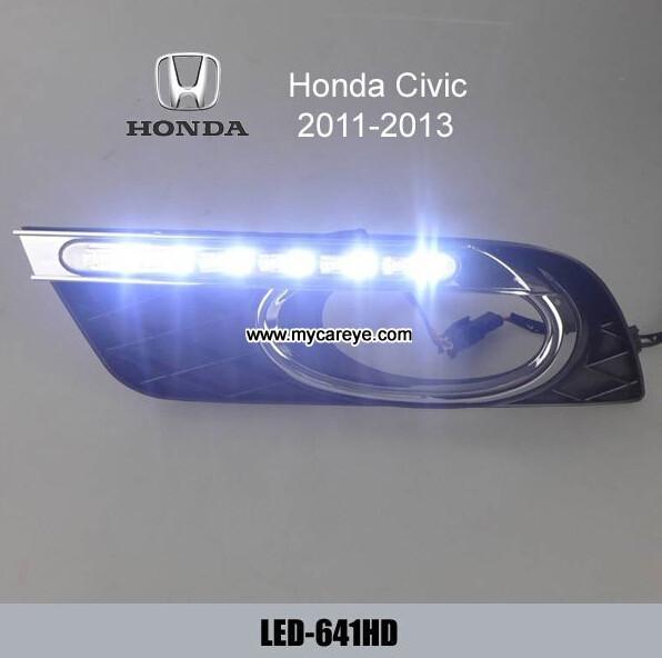 Honda Civic Drl Led Daytime Running Light Turn Light