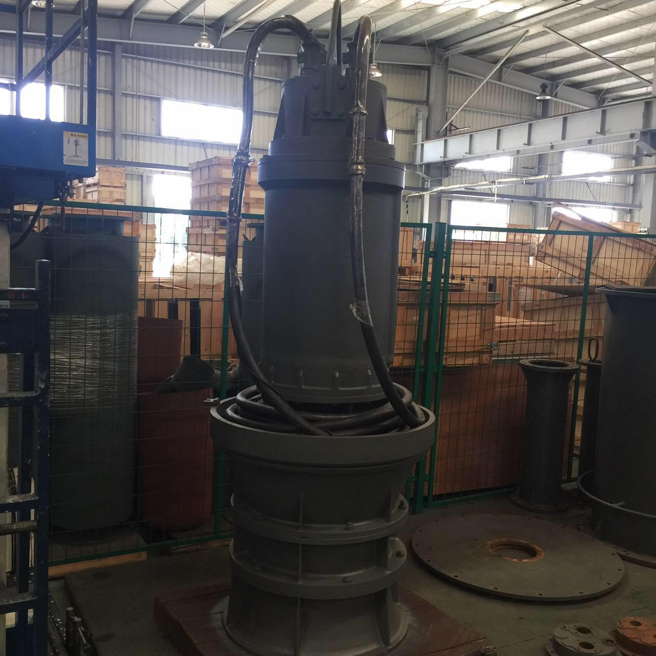 Wholesale Axial Flow Ventilation Submersible Dirty Water Pump Single Stage With Motor Drive from china suppliers