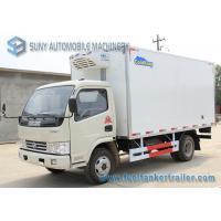 Wholesale Colored Dongfeng 3T / 5T Refrigerated Box Truck 4x2 10m3-14m3 from china suppliers