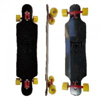Wholesale 7 Ub Roasted Red Trucks 8 Ply Canadian Maple Longboard (LD-158) from china suppliers