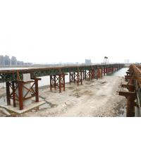 Wholesale Heavy Trucks Modular Deck Truss Steel Bailey Bridge Design 900 Carriage from china suppliers