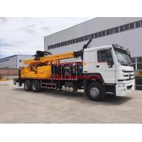 Quality Rotary borehole drilling rig , 600m drilling capacity well drilling machines JKCS600 for sale