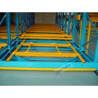 Freezers Rail Free Mobile Storage Racks 32000Kg Per Module Without Concrete Floor Construction